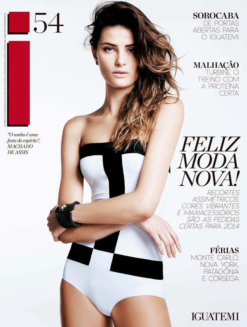 Iguatemi Isabeli Fontana2 Isabeli Fontana is Riviera Chic for Iguatemi Magazine