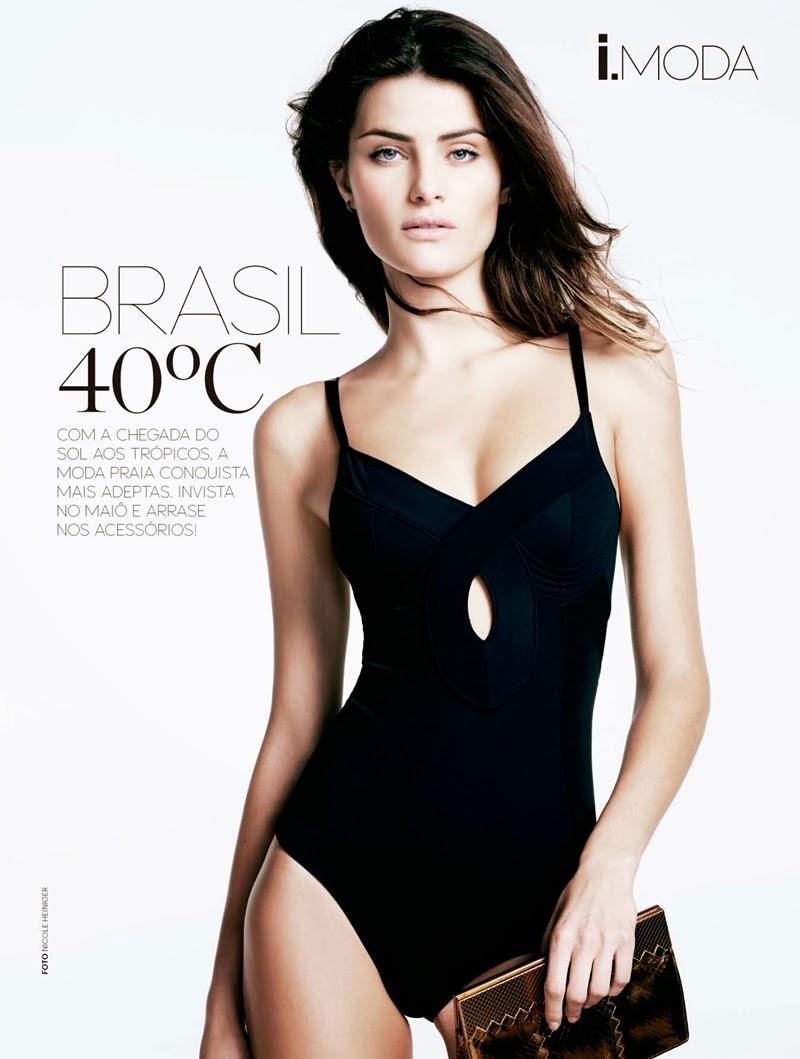Iguatemi Isabeli Fontana3 Isabeli Fontana is Riviera Chic for Iguatemi Magazine