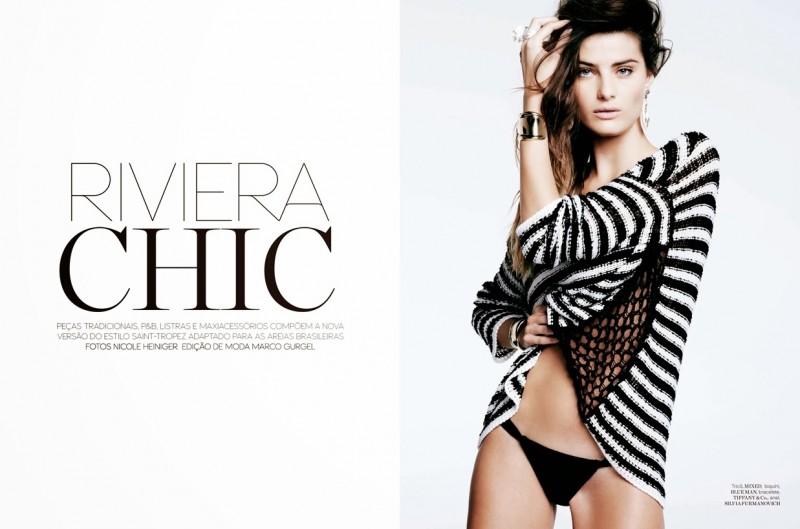 Iguatemi Isabeli Fontana4 800x529 Isabeli Fontana is Riviera Chic for Iguatemi Magazine