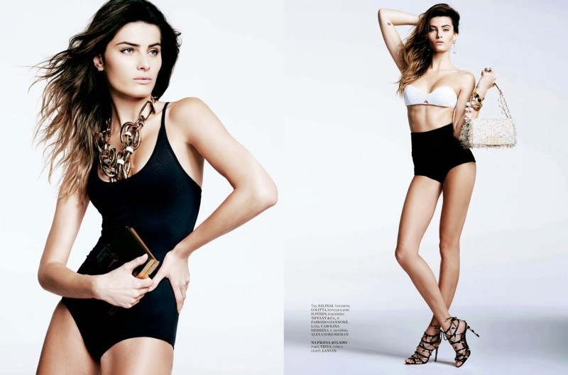 Isabeli Fontana is 'Riviera Chic' for Iguatemi Magazine