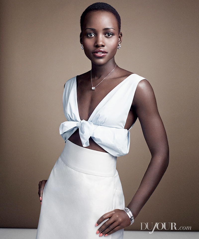 Lupita Nyongo5 Lupita Nyongo Poses for DuJour Magazine Shoot