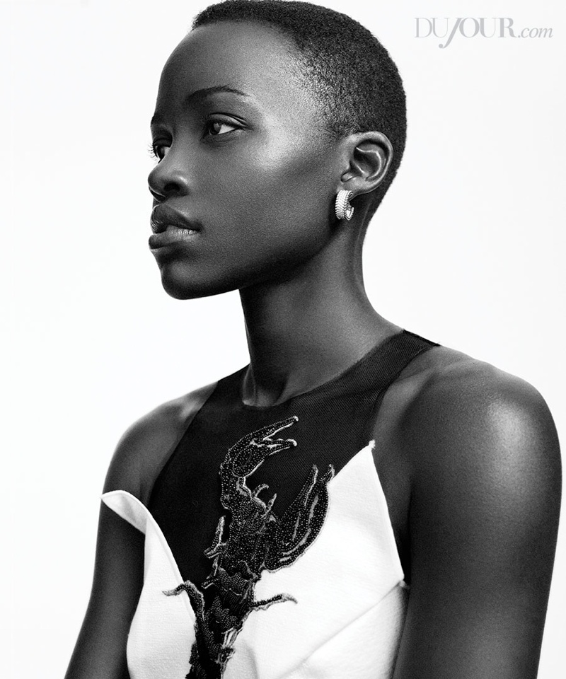 Lupita Nyongo6 Lupita Nyongo Poses for DuJour Magazine Shoot