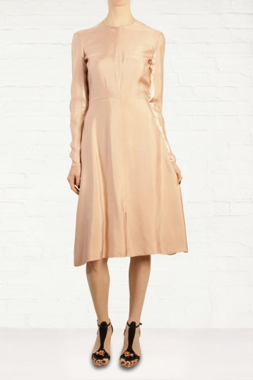 Richard Nicoll Rose Gold Waterfall Dress Fashion for the Festive Season