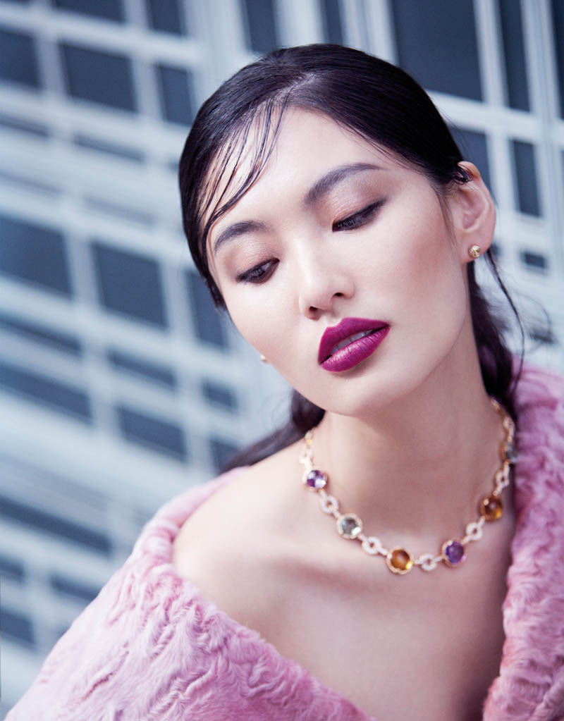 Bonnie Chen Dons Coats For Stockton Johnson In Grazia