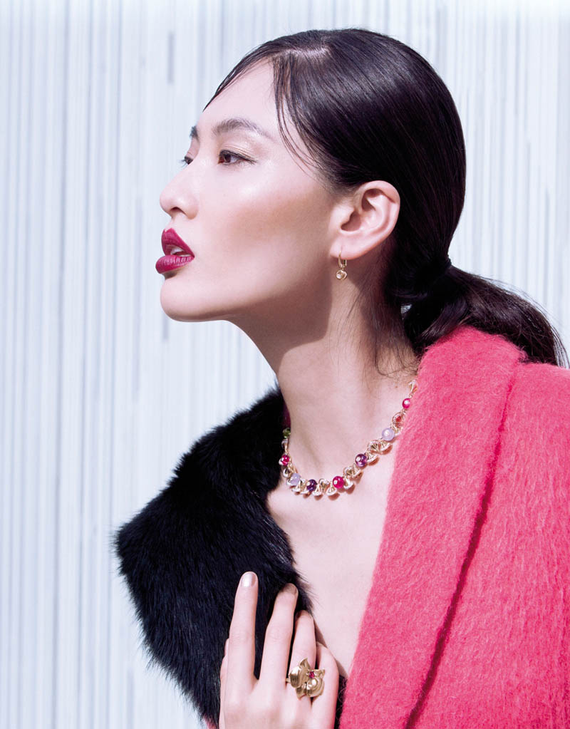 StocktonJohnson BonnieChen 8 Bonnie Chen Dons Coats for Stockton Johnson in Grazia