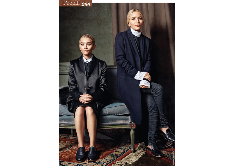 VK OLSEN 2 Mary Kate & Ashley Olsen Pose for Michael Schwartz in Vogue Korea