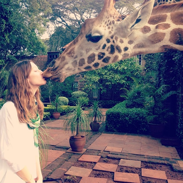 alana giraffe Instagram Photos of the Week | Alessandra Ambrosio, Coco Rocha + More Model Pics