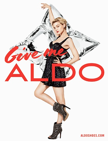 Jourdan Dunn, Jessica Stam + More for Aldo Holiday 2013 Ads by Terry Richardson