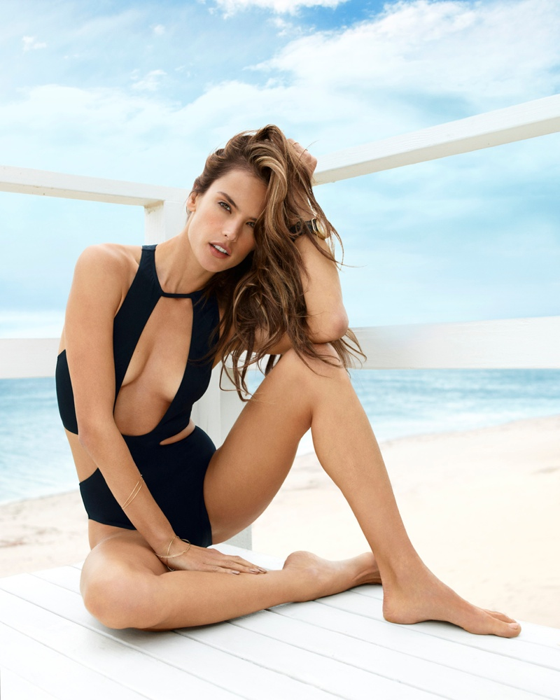 alessandra the edit3 Alessandra Ambrosio Stars in The Edit, Talks About Plastic Surgery
