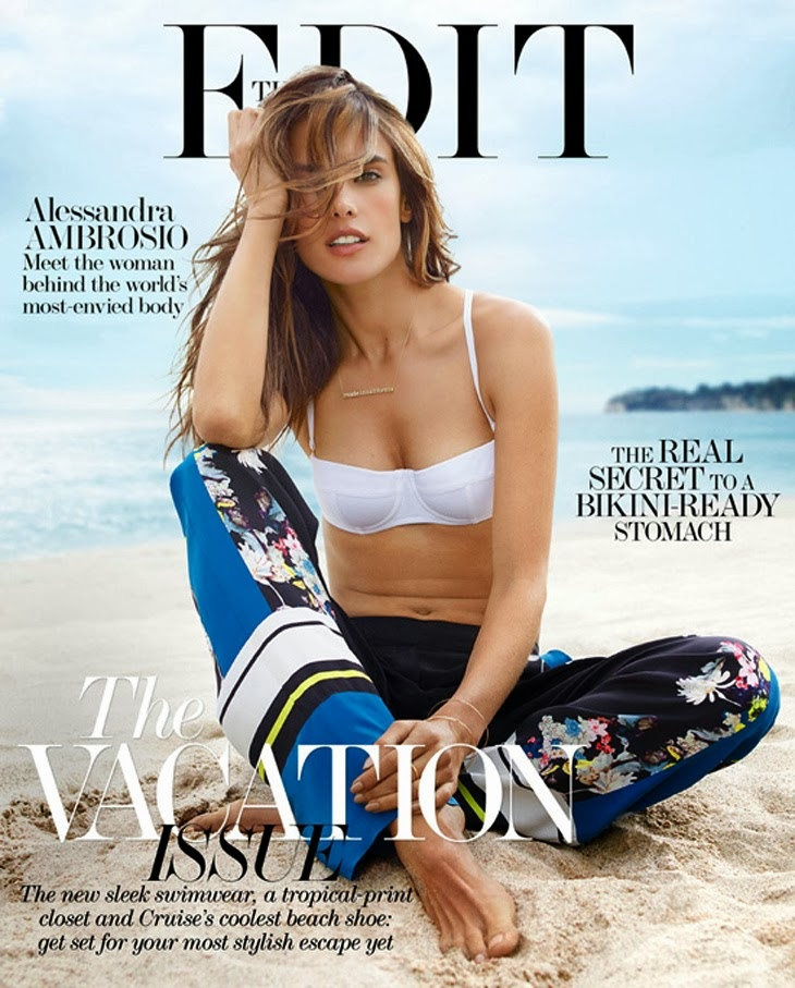 alessandra the edit5 Alessandra Ambrosio Stars in The Edit, Talks About Plastic Surgery