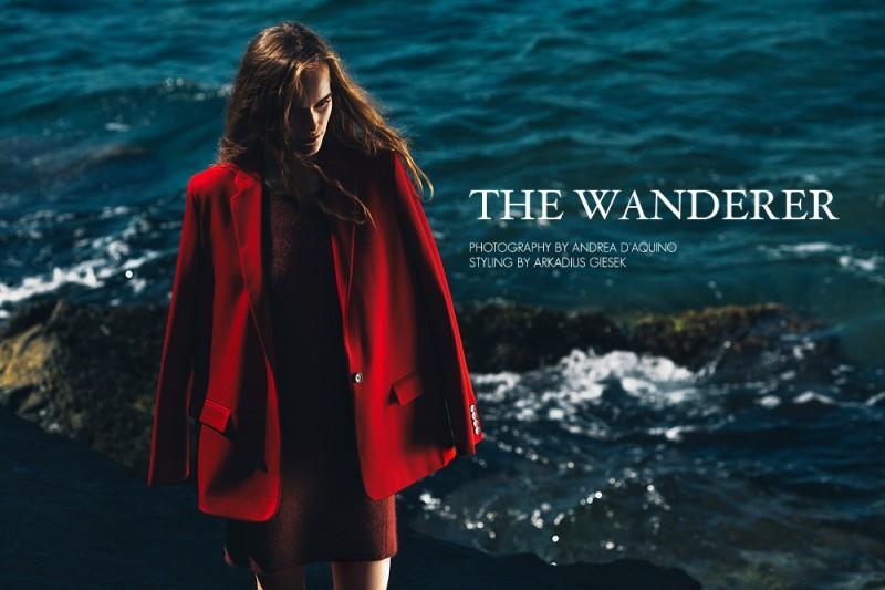 """Martina Vobornikova by Andrea D'Aquino in """"The Wanderer"""" for Fashion Gone Rogue"""