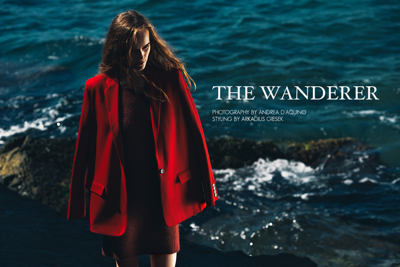 andrea daquino Martina Vobornikova by Andrea DAquino in The Wanderer for Fashion Gone Rogue