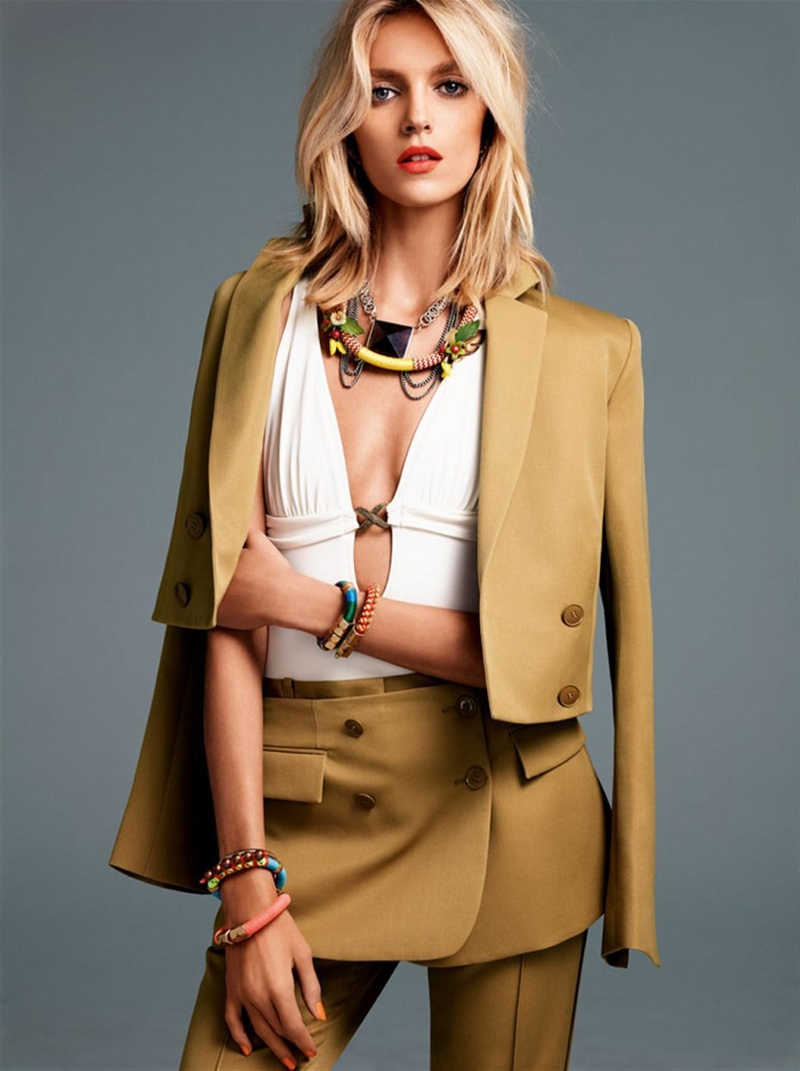 anja rubik photo shoot12 Anja Rubik Gets Sunny for Vogue Korea Shoot by Alexi Lubomirski