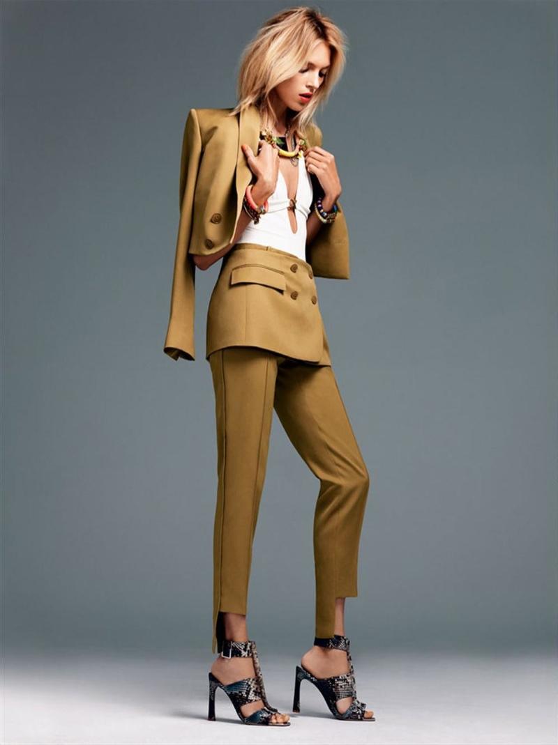 Anja Rubik Gets Sunny for Vogue Korea Shoot by Alexi Lubomirski