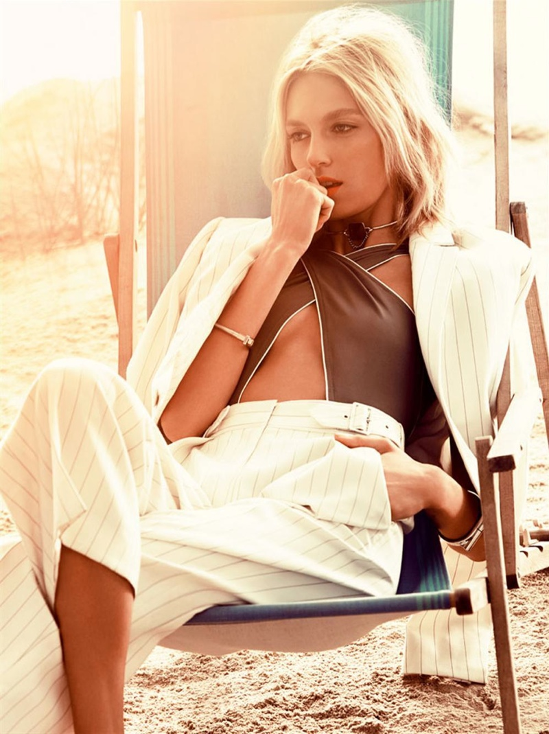 anja rubik photo shoot6 Anja Rubik Gets Sunny for Vogue Korea Shoot by Alexi Lubomirski