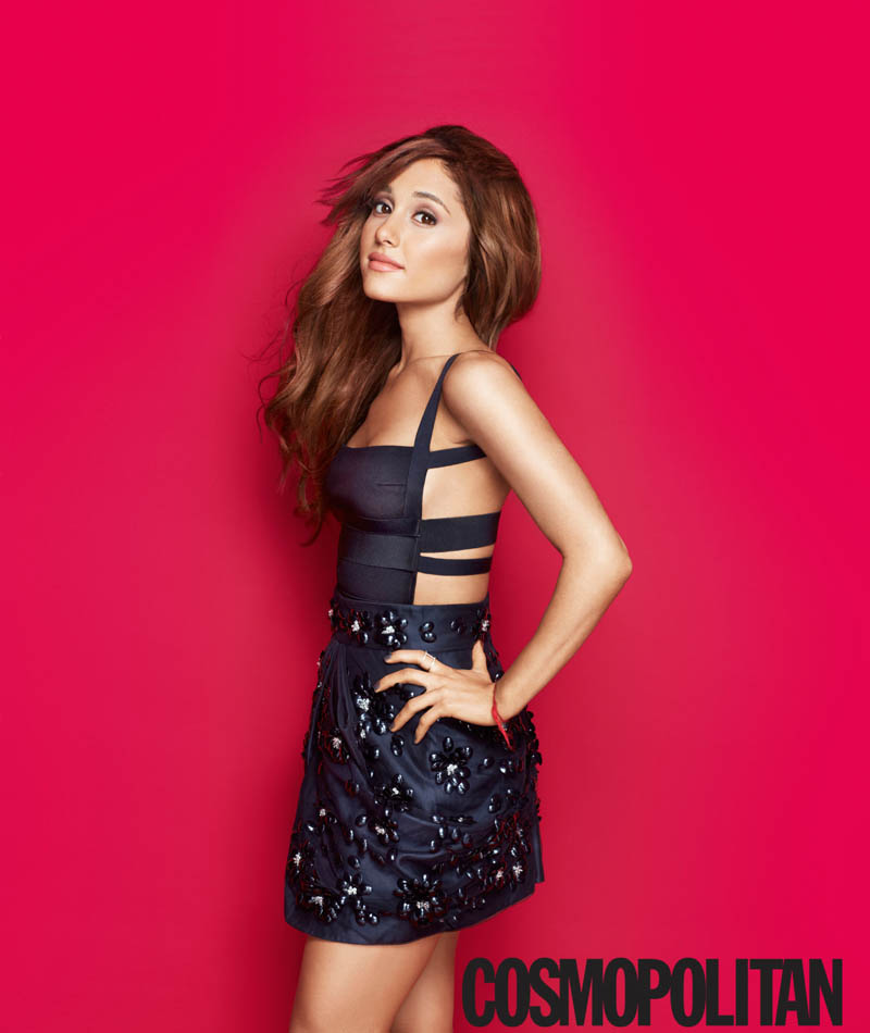 ariana grande cosmo3 Ariana Grande Covers Cosmopolitan, Talks Being a Positive Role Model