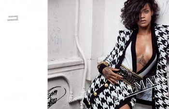 See More Photos from Rihanna's Balmain Advertisements