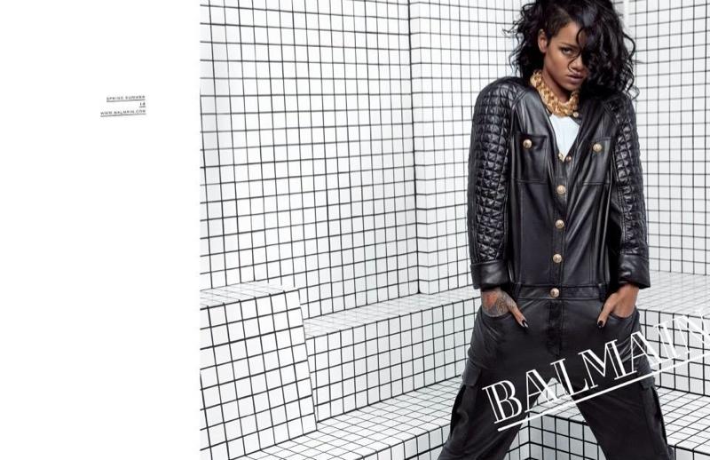 See More Photos from Rihanna's Balmain Advertisements