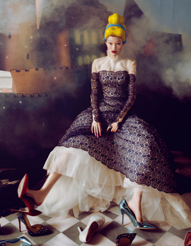bazaar fairy tales3 Shxpir Captures Fairy Tale Fashion for Harpers Bazaar China