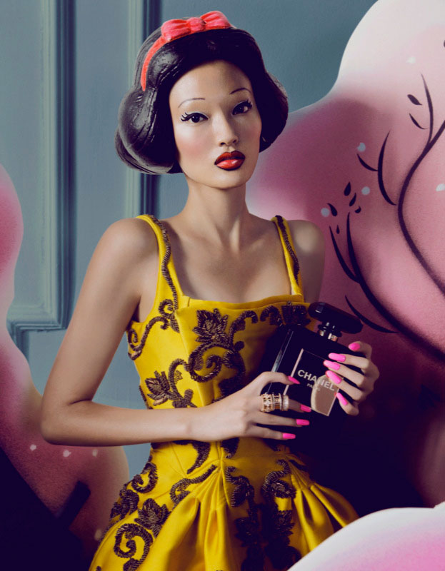 bazaar fairy tales4 Shxpir Captures Fairy Tale Fashion for Harpers Bazaar China