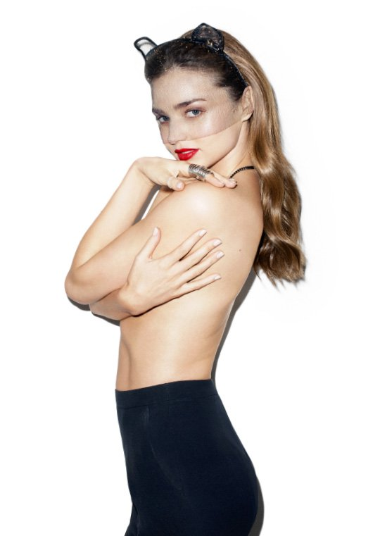 bazaar miranda kerr1 Miranda Kerr Covers Bazaar Australia, Opens Up About Recent Separation