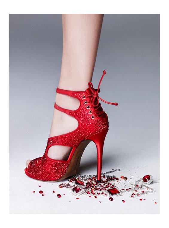 Bette Franke is Red Hot for Nagi Sakai in Harper's Bazaar Spain