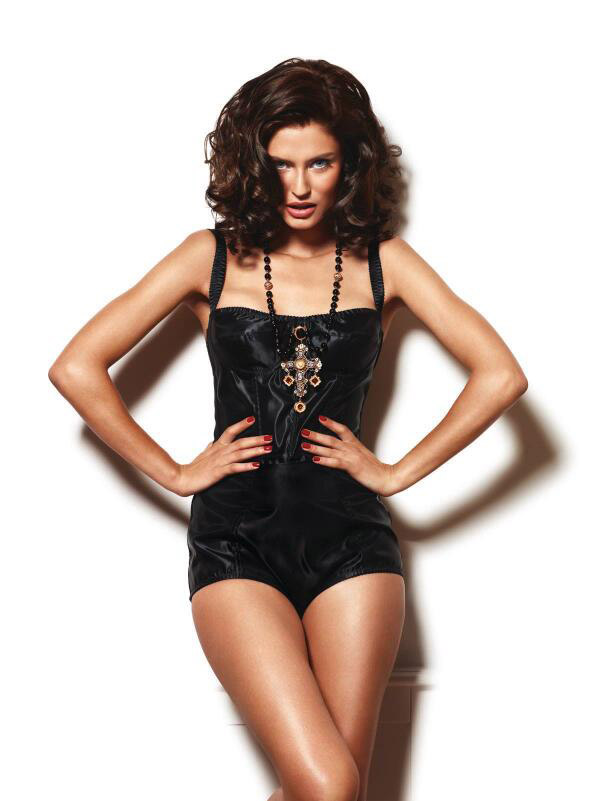 bianca lingerie shoot10 Bianca Balti Stuns in Dolce & Gabbana for Esquire Mexico