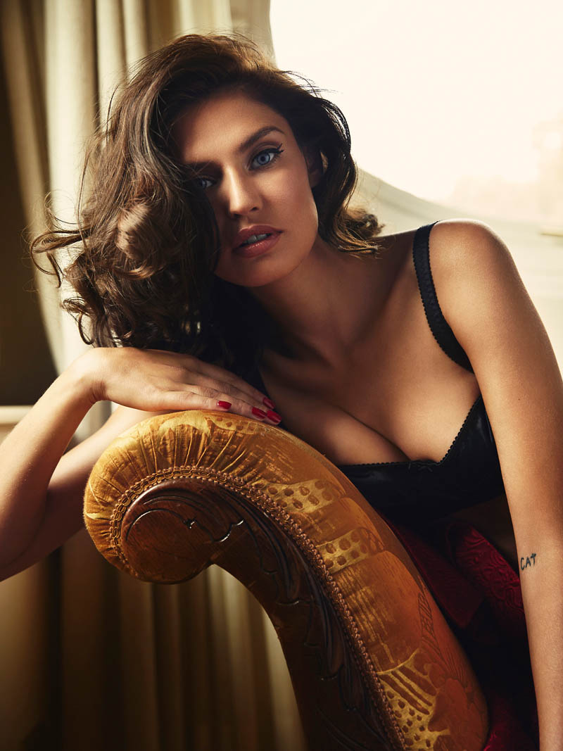 bianca lingerie shoot3 Bianca Balti Stuns in Dolce & Gabbana for Esquire Mexico