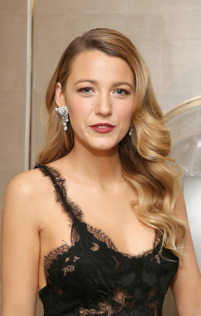 blake lively marchesa dress3 Blake Lively Wears Marchesa at Van Cleef & Arpels Event