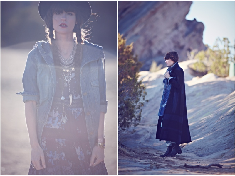 blues traveler8 Kelley Ash Has the Blues for Free People Shoot