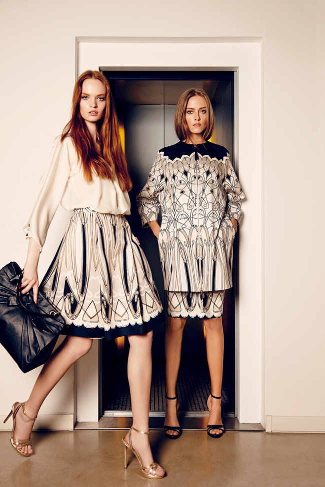 blumarine art deco1 Blumarine Launches Art Deco Capsule Collection