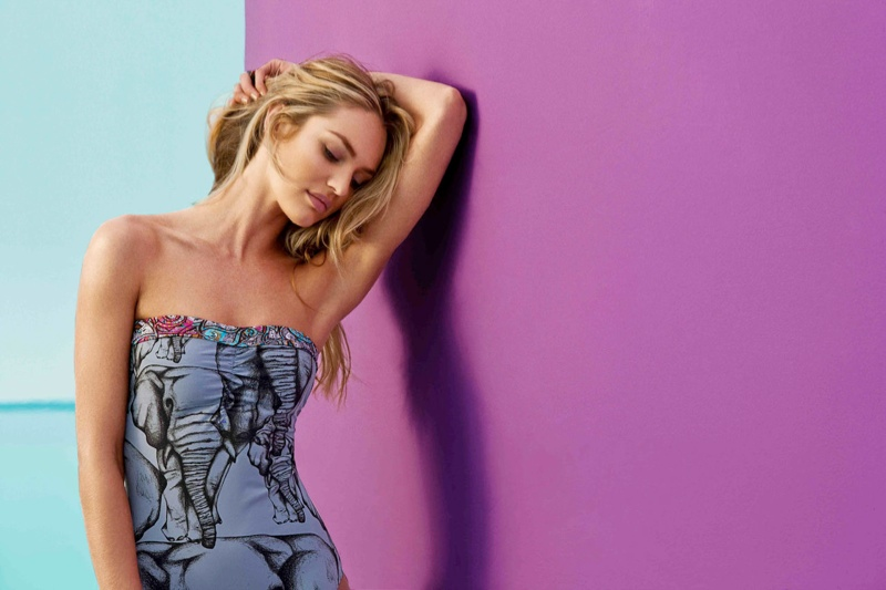 Candice Swanepoel for Agua Bendita Spring 2014 Campaign
