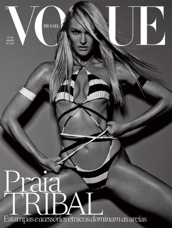 Candice Swanepoel is Hot on Vogue Brazil January 2014 Cover