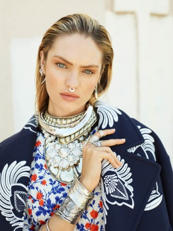 Models Wearing Nose Rings: A Style with Attitude