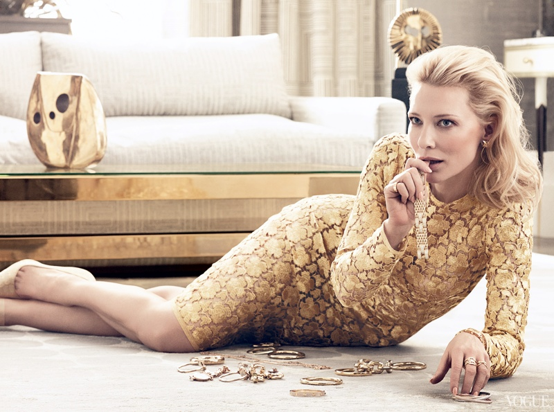 cate blanchett craig mcdean1 See More of Cate Blanchetts Shoot for Vogue by Craig McDean