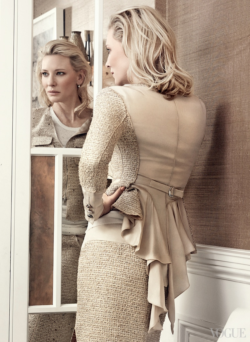 cate blanchett craig mcdean2 See More of Cate Blanchetts Shoot for Vogue by Craig McDean