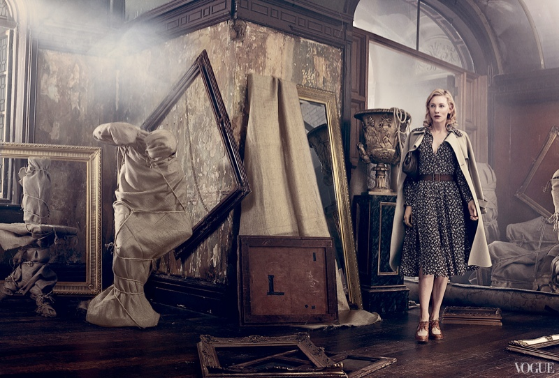 cate blanchett craig mcdean3 See More of Cate Blanchetts Shoot for Vogue by Craig McDean