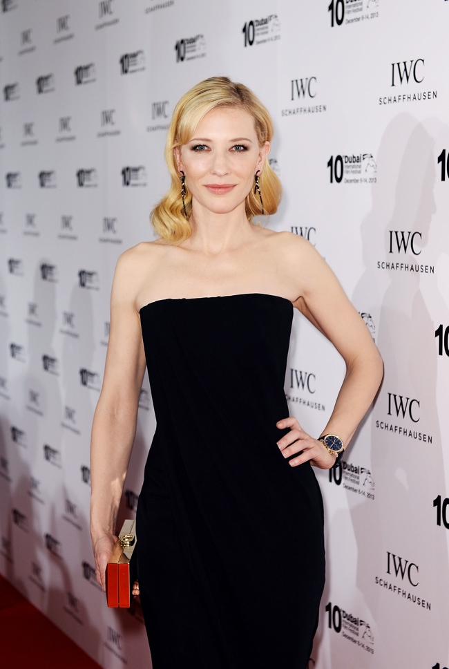 cate givenchy jumpsuit2 Cate Blanchett Wears Givenchy at 10th Annual Dubai International Film Festival