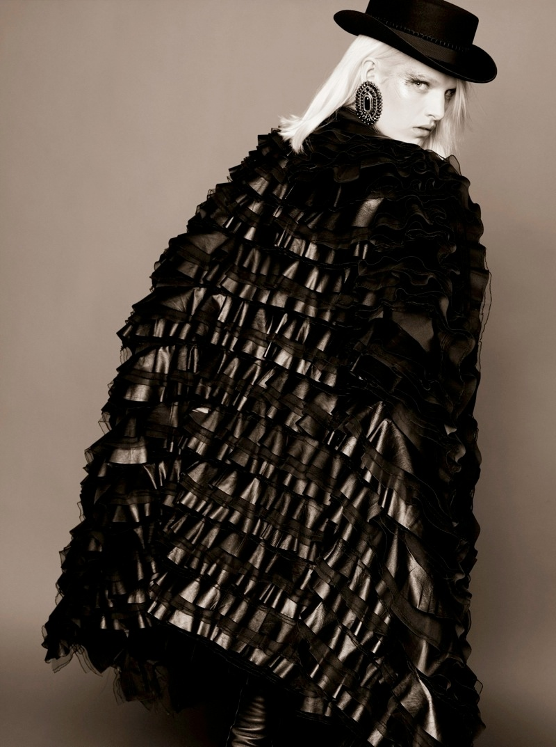 Ashleigh Good Stars in Chanel Pre-Fall 2014 Shoot by Karl Lagerfeld