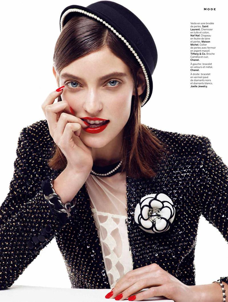 Marikka Juhler is Chanel Chic for Alvaro Beamud Cortes in Stylist #27