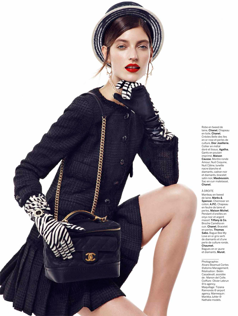 chanel chic6 Marikka Juhler is Chanel Chic for Alvaro Beamud Cortes in Stylist #27