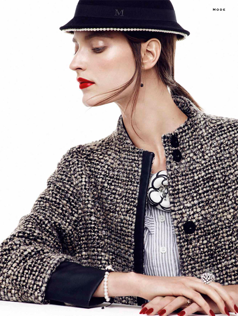chanel chic7 Marikka Juhler is Chanel Chic for Alvaro Beamud Cortes in Stylist #27
