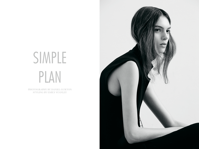 "Charlee Fraser by Daniel Gurton in ""Simple Plan"" for Fashion Gone Rogue"