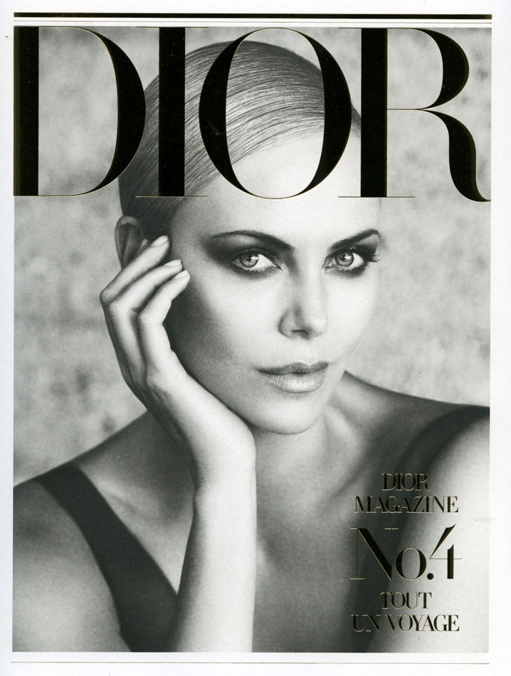 charlize theron dior mag1 Charlize Theron Takes LA for Dior Magazine #4 by Patrick Demarchelier