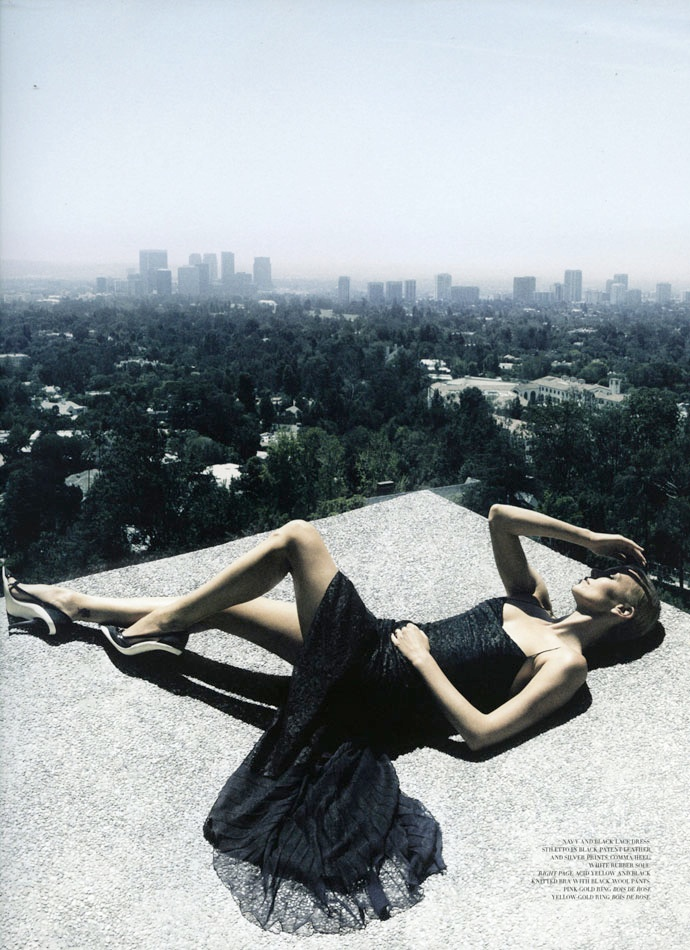 charlize theron dior mag4 Charlize Theron Takes LA for Dior Magazine #4 by Patrick Demarchelier
