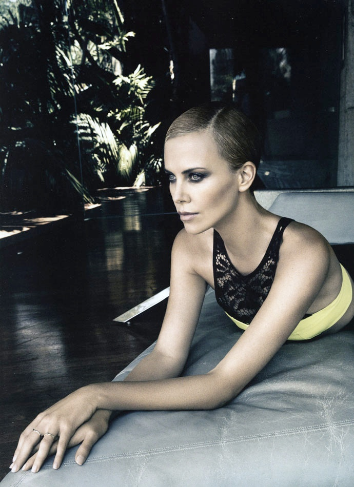 charlize theron dior mag5 Charlize Theron Takes LA for Dior Magazine #4 by Patrick Demarchelier