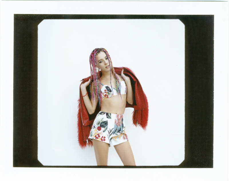 chloe norgaard hair12 Chloe Norgaard Rocks Colorful Braids for Nylon Mexico by Andrew Kuykendall