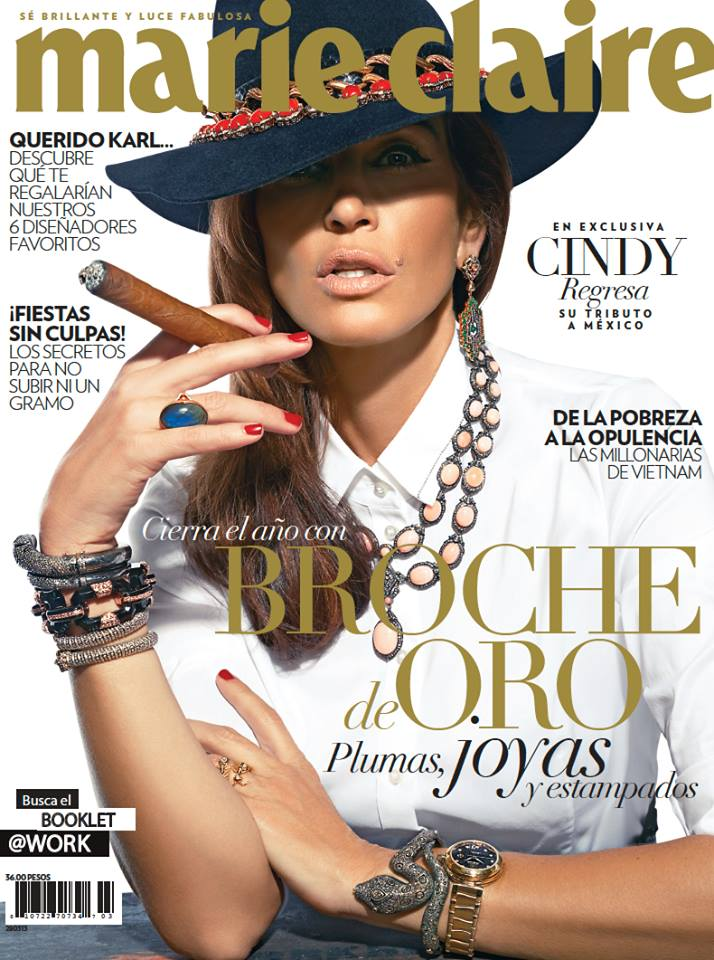 cindy marie claire cover Cindy Crawford Works it for Marie Claire Mexico Film by Vladimir Marti