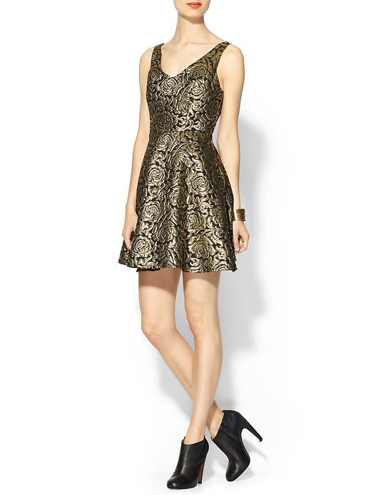 cleo metallic dress 7 Metallic Dresses for New Years Eve