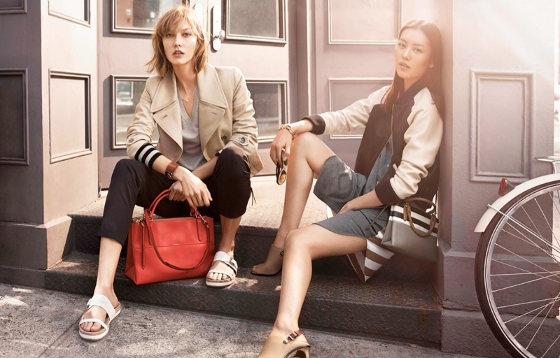 coach spring 2014 campaign1 Preview | Liu Wen + Karlie Kloss for Coach Spring 2014 Campaign